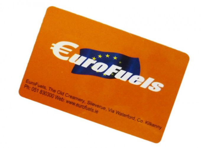 Fuelcard services enables with RFID