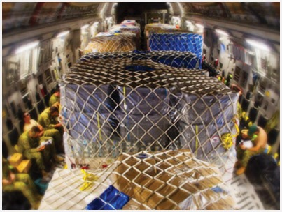 Pallet nets are essential air cargo safety equipment, RFID tags track their use.