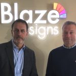 Clive Knight of Blaze Signs