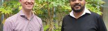 Richard Harrison and Munzi Ali