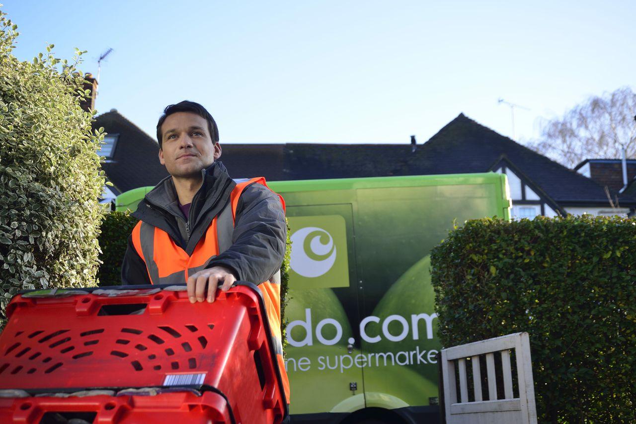 Ocado delivery man