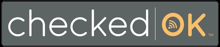 CheckedOK logo